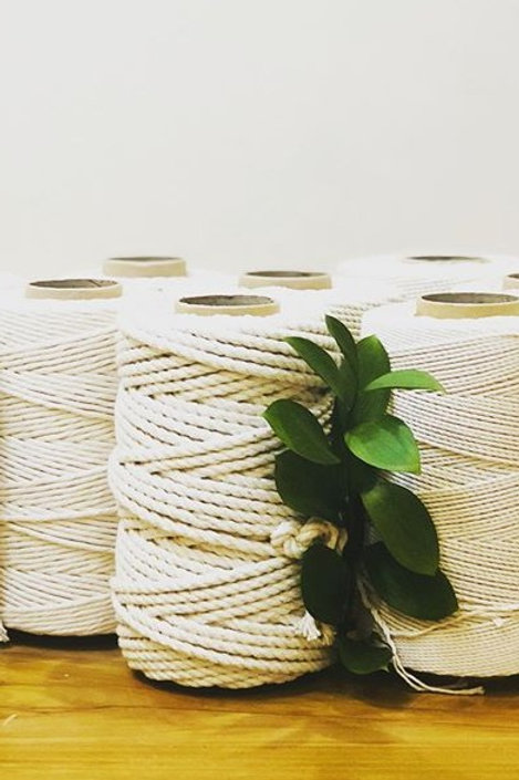 7mm | Natural Cotton Rope