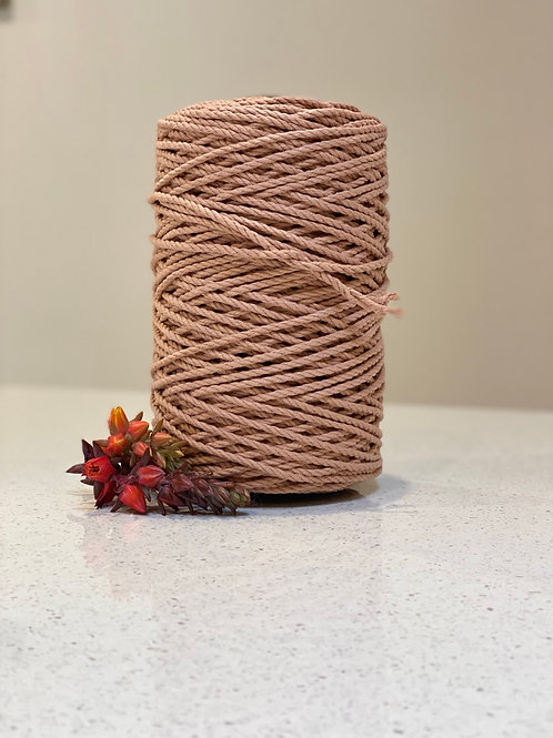 Antique Peach | Luxe Cotton Rope