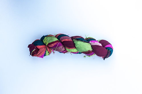Multi | Sari Silk Ribbon