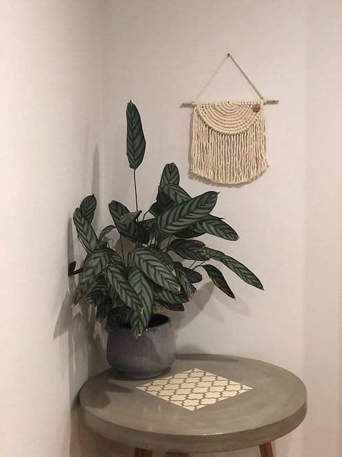 Roulette | Natural Macrame Wall Hanging