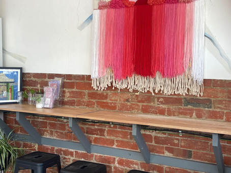 JESS HUDSWELL - AUGUST MONTHLY FIBRE ARTIST FEATURE