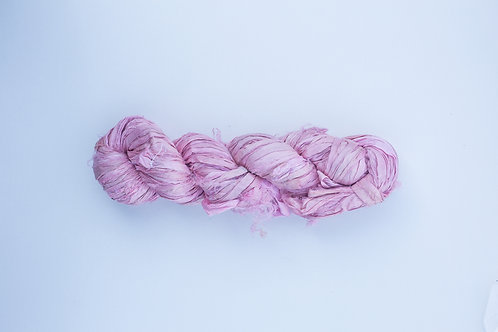 Pink Lace | Sari Silk Ribbon