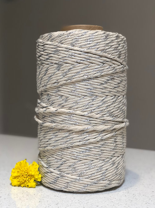 Metalic | Single Twist Cotton String