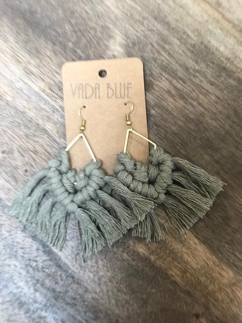 Geo Tails   Earrings