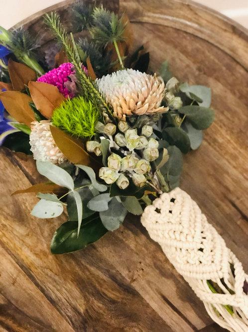 Saffron   Wedding Bouquet Wrap