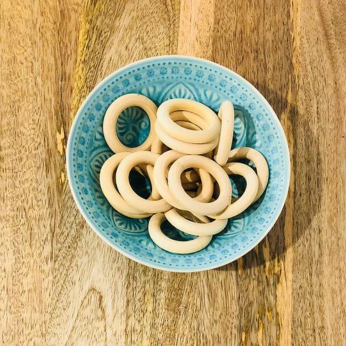 Natural Wooden Rings   Macrame Supplies