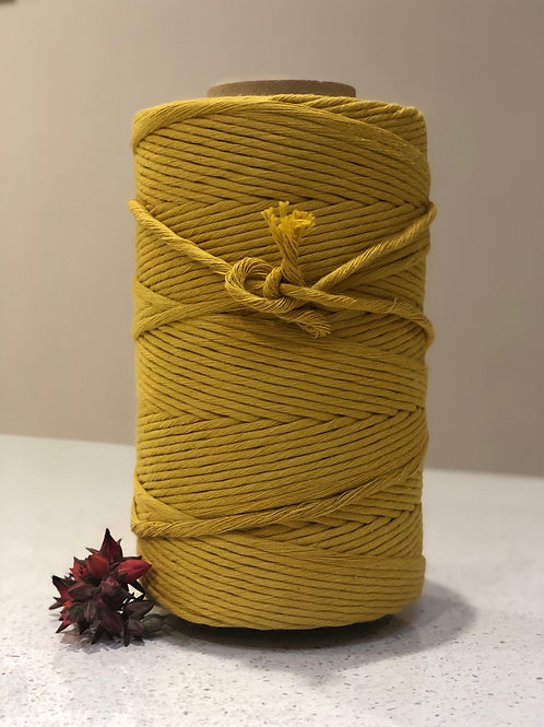 Yellow Mustard | Single Twist String