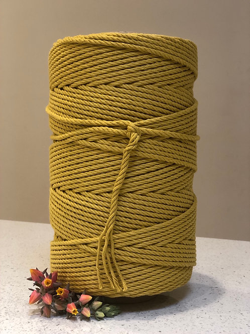 Yellow Mustard | Cotton Rope