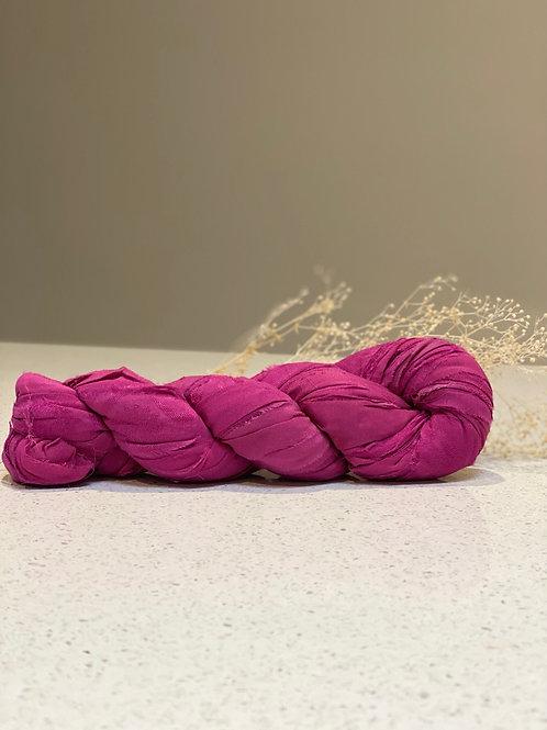 Magenta | Silk Chiffon Ribbon
