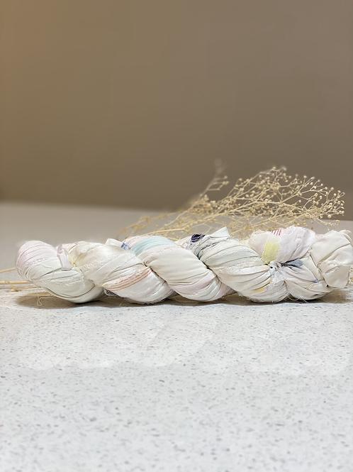 White Mix  | Silk Chiffon Ribbon
