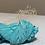 Thumbnail: Aqua | Silk Chiffon Ribbon