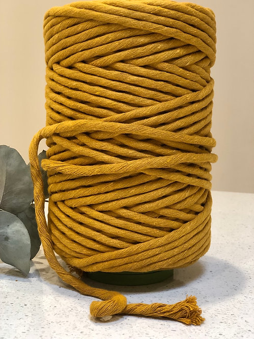 10mm Mustard | Luxe Cotton String