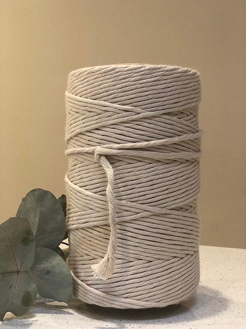 Beige   Single Twist String