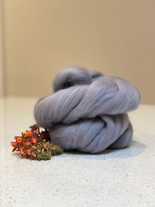 Ash   Dyed Merino Tops