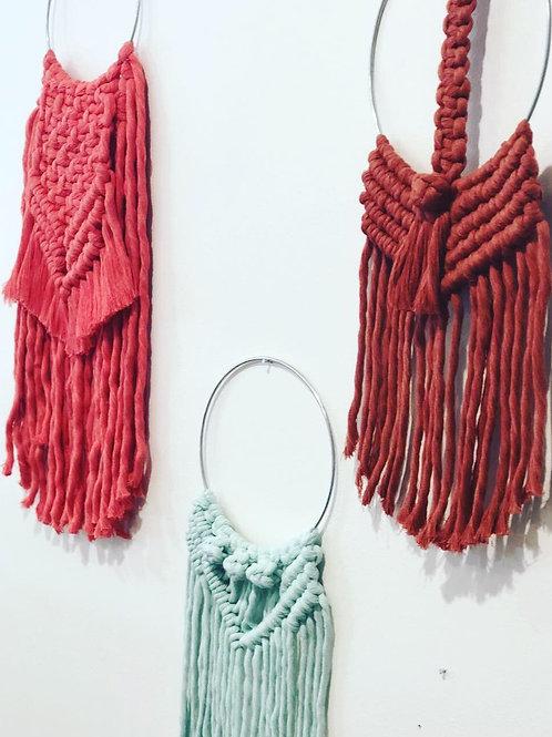 Mini Bohemian Macrame Wall Hangings
