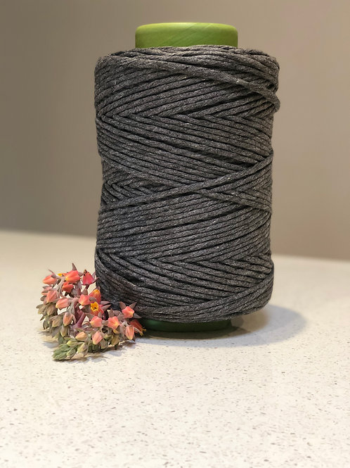Charcoal | Luxe Cotton String
