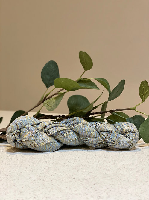 Blue Stone | Khadi Ribbon