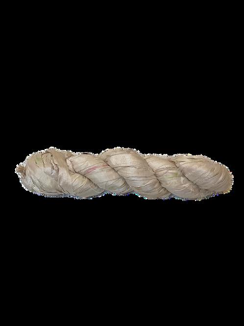 Ivory | Sari Silk Ribbon