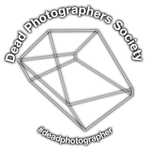 DEAD PHOTOGRAPHERS WHITE TSHIRT CHEST PR