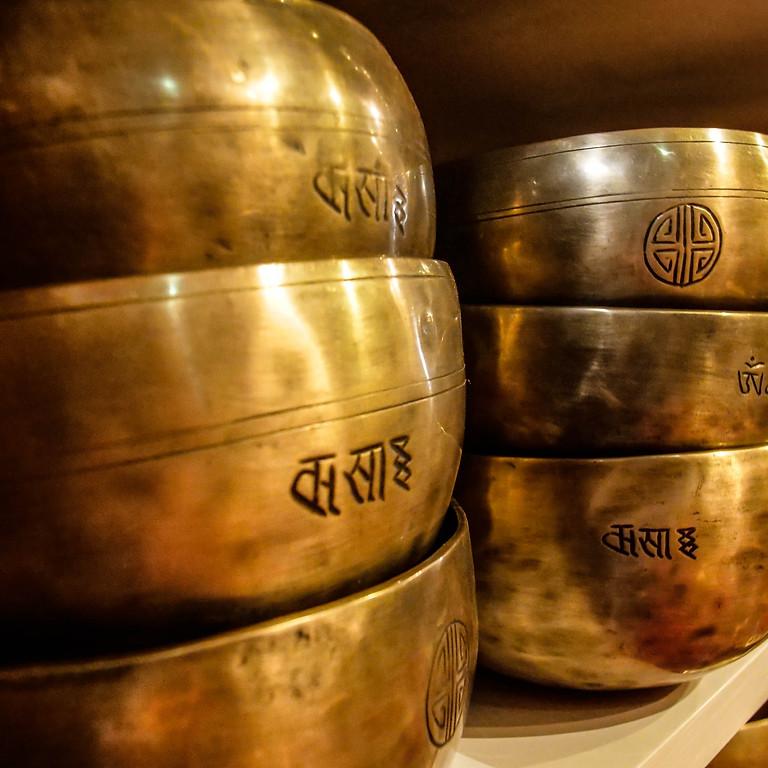 Concert méditatif avec les bols chantants tibétains