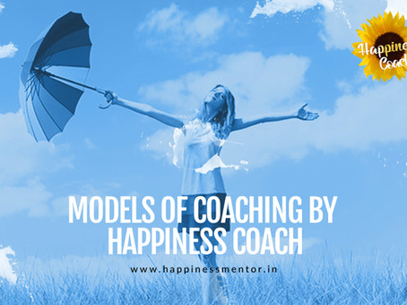 Models of coaching by Happiness Coach