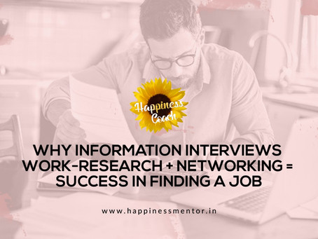Why Information Interviews Work-Research + Networking = Success in Finding a Job