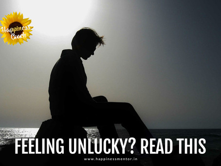 Feeling unlucky? Read this.
