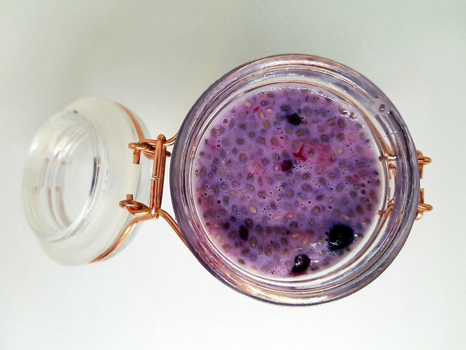 Super Simple Berrylicious Chia Pudding!