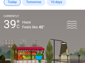 New Delhi: Weather for the next three days with ghostly gusts.
