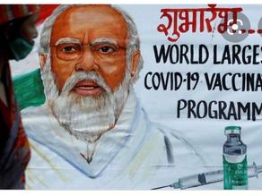 A benchmark of 86 lakh citizens vaccination June 21.- Shree Narendra Modi Ji.