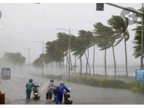 Orange warnings in Delhi-IMD (Indian Metrological Department) rain as cyclone Tauktae.