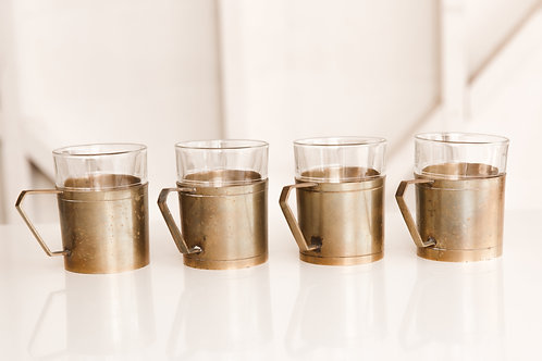 Brass Glassware