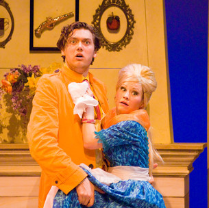 """Kate Hardcastle in """"She Stoops To Conquer"""""""