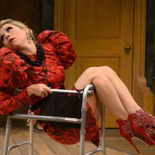 """Yvanne in a new adaptation of """"The Imaginary Invalid"""""""
