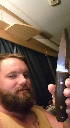 Rob Gamble's Knife