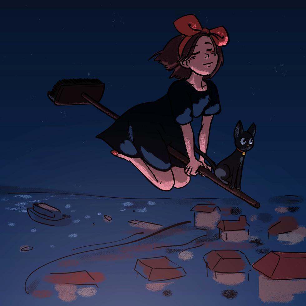 Kiki Cruising