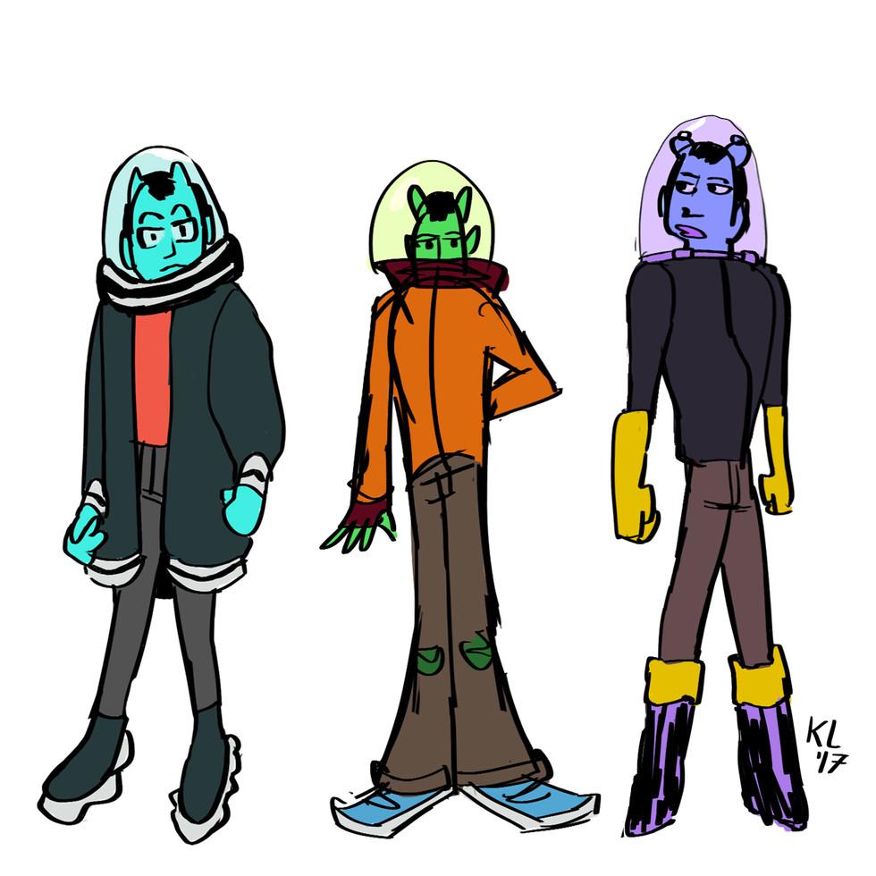 Alien Boy 1