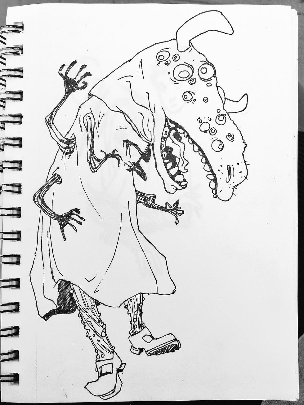 Inktober Monster