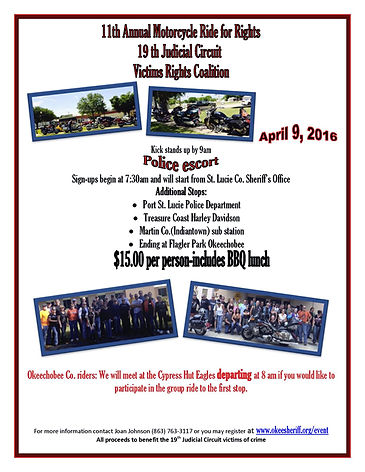 Annual Motorcycle Ride for Rights