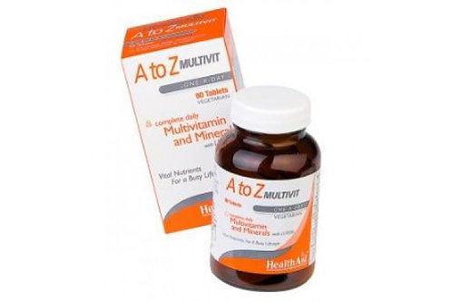 MULTIVIT & MINERALS A to Z 90comp.