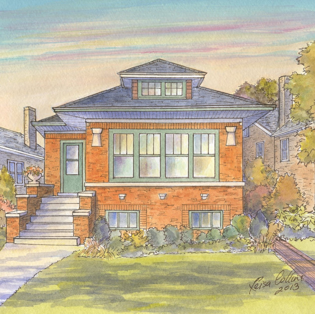 Chicago Bungalow in Lincoln Square