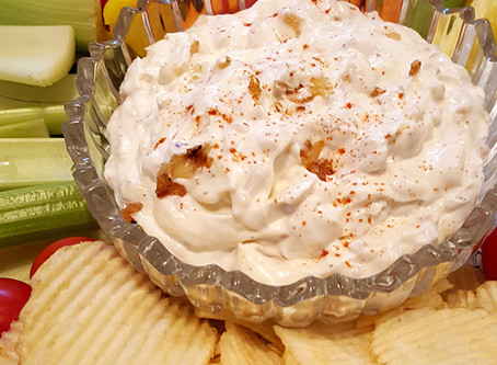 The Bungalow Chef's Cool and Refreshing Onion Dip (Recipe)