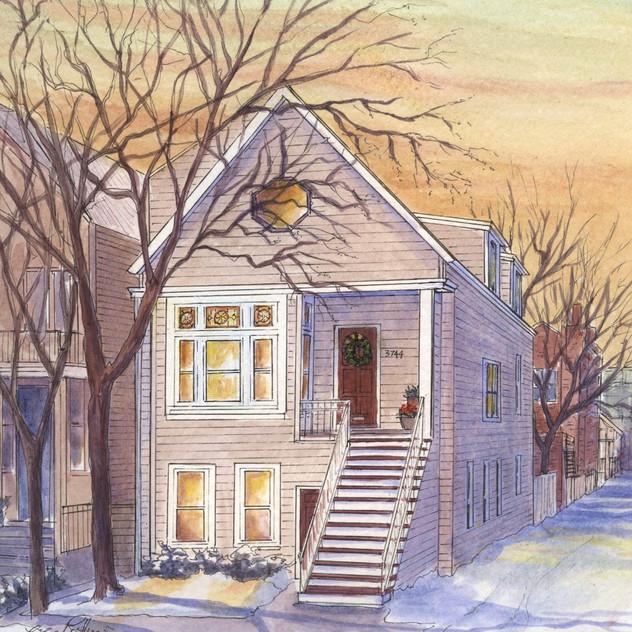 Winter Worker's Cottage