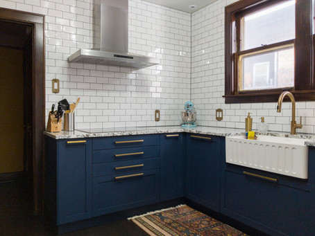 Before & After: Bungalow Kitchen Goes Boho-Modern