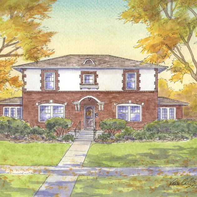 Prairie Home in the Fall