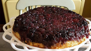The Bungalow Chef's Summer Berry Upside Down Cake (Recipe)