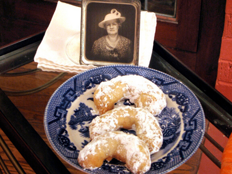 The Bungalow Chef's Pecan Crescent Cookies (Recipe)