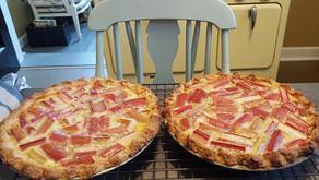 The Bungalow Chef's Rhubarb Custard Pie (Recipe)