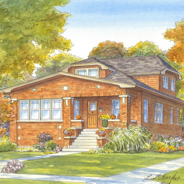 Fall Bungalow in River Forest, IL
