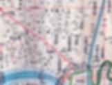 大東京市全図・昭和7年からの五反野駅周辺